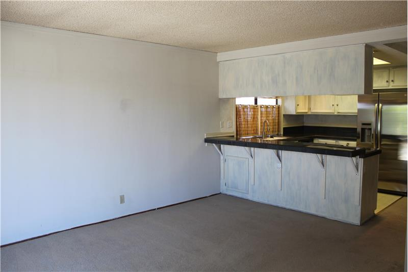 Family Room View to Kitchen
