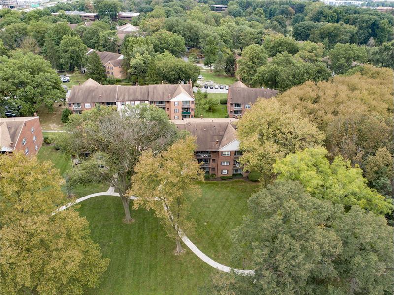 352 Drummers Lane Aerial Community Views