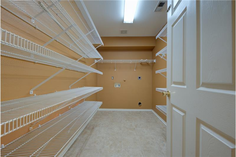 Large Pantry and Utility Room