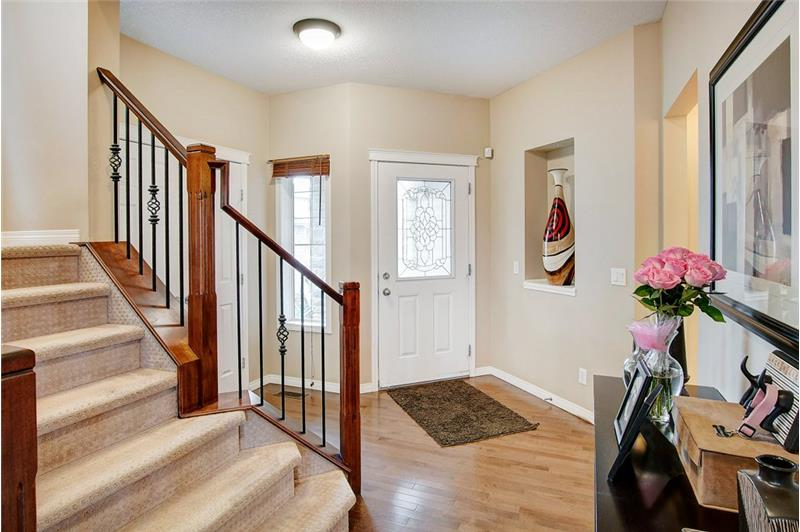 Large welcoming foyer