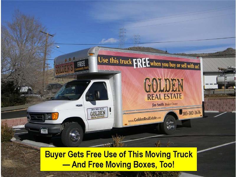 Buyer gets free use of this truck and free moving boxes!