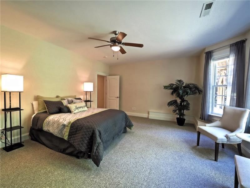 #5 Bedroom of 5/6 in basement