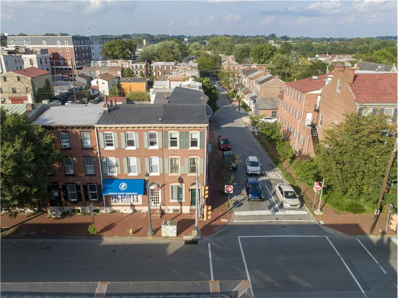 39 S High Street, West Chester Aerial View