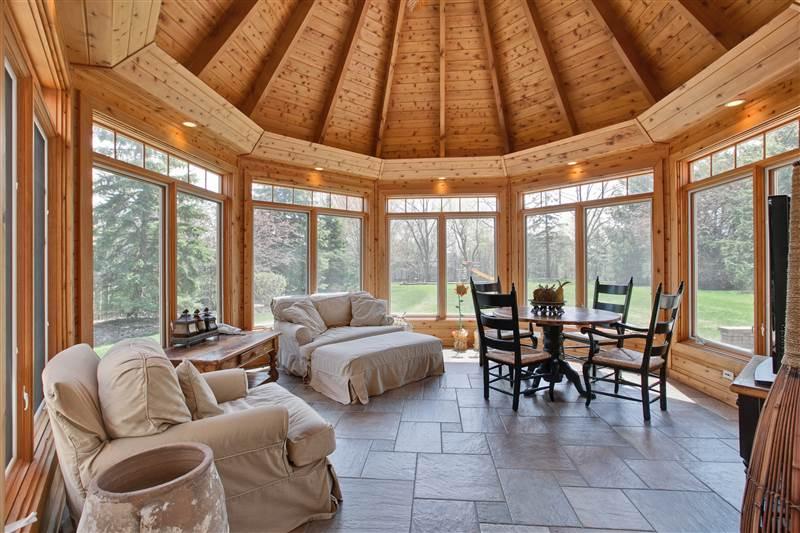 Four-Season Heated Sunroom