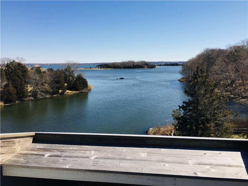 Your waterfront view from your own & only porch in the complex!