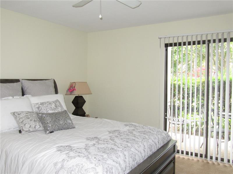 Bedroom opens to Lanai