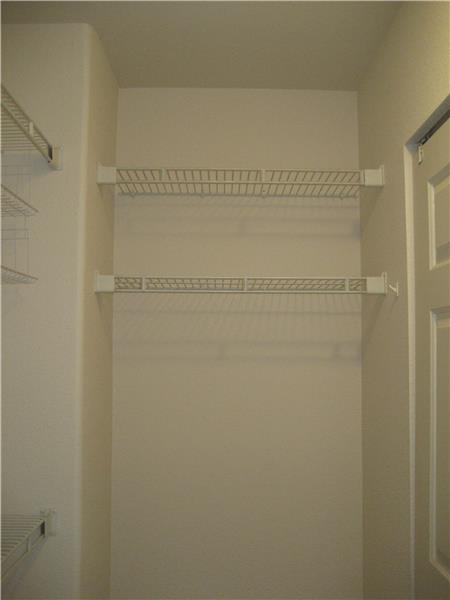Walk-In Closet  - View from Inside