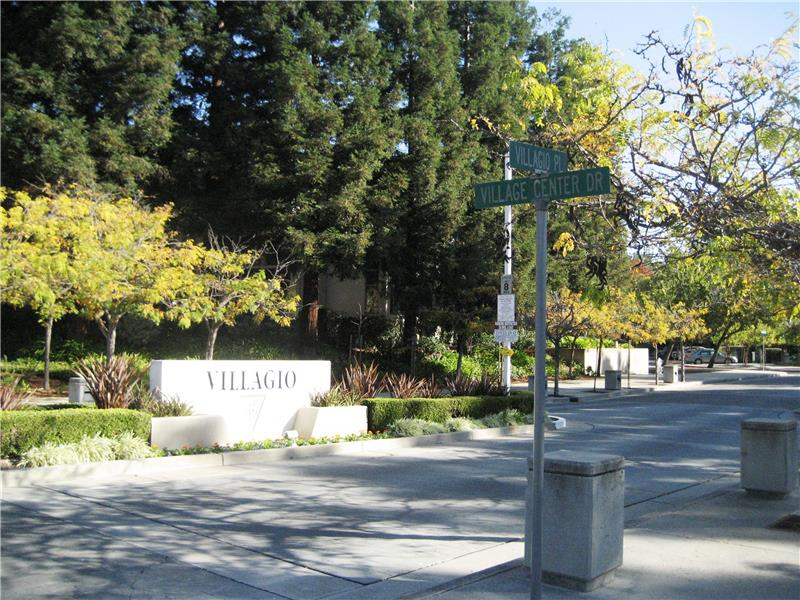 Entrance Into Villagio Community