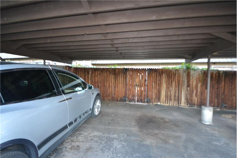 2-car carport at rear of unit