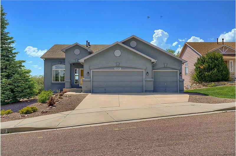 Well-maintained, D20 ranch-style home located in the Gatehouse Village of Briargate neighborhood