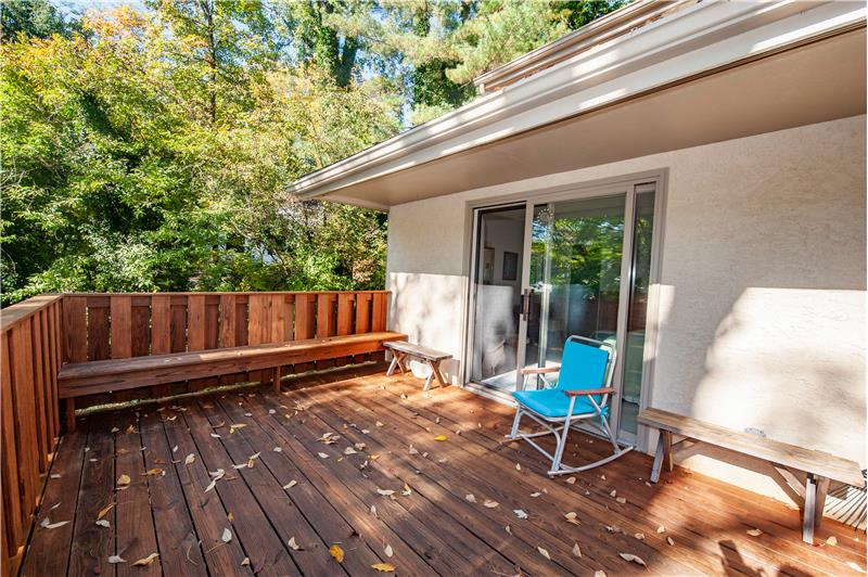 504 Meadowbrook Circle Private Deck off Primary Suite