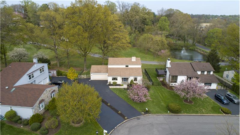 513 Flora Circle Aerial View