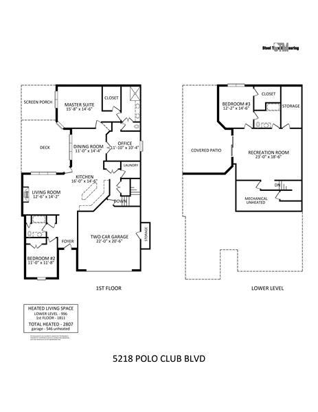Open, flowing floor plan. Split bedroom plan on main floor maximizes privacy.