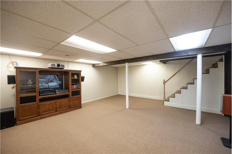 528 General Scott Road Area for Home Gym and Media Room