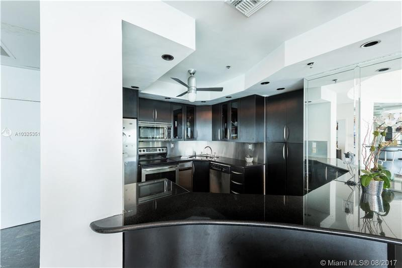 Black Granite & Open Kitchen