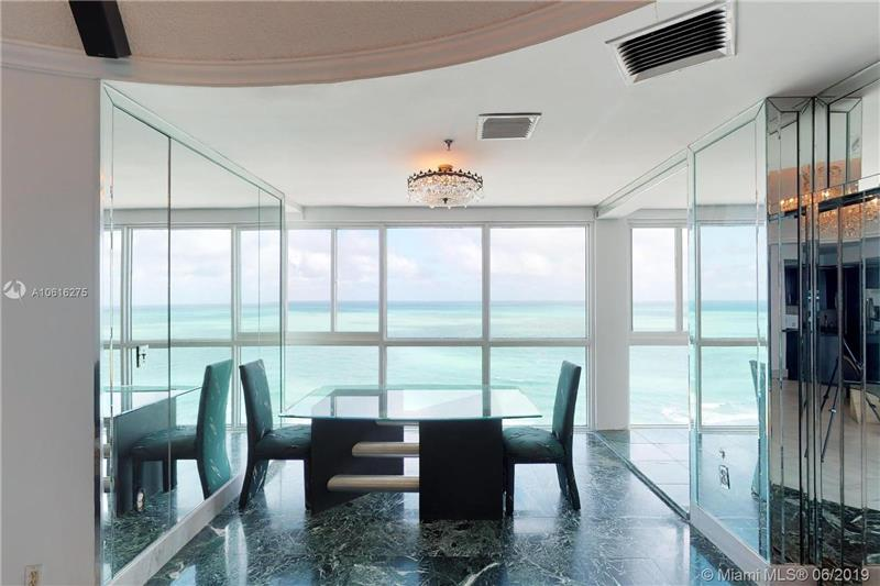 Dining Room Overlooking the Ocean