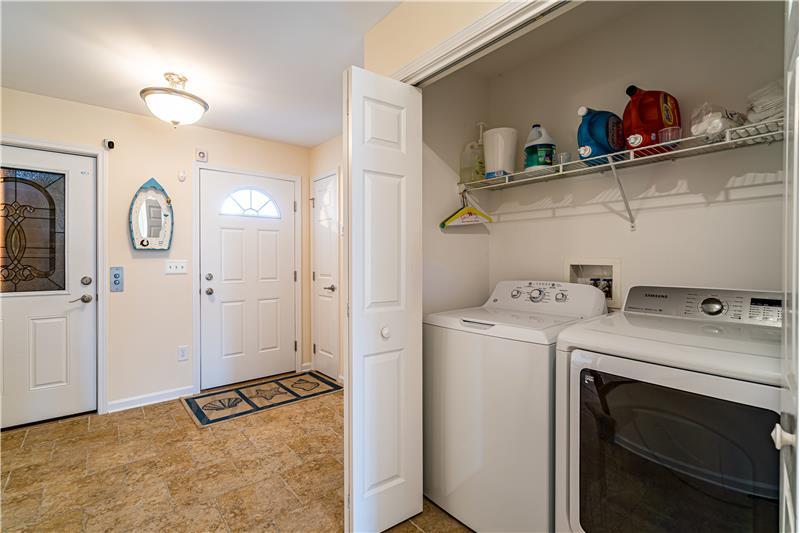 Laundry Area on Lower Level