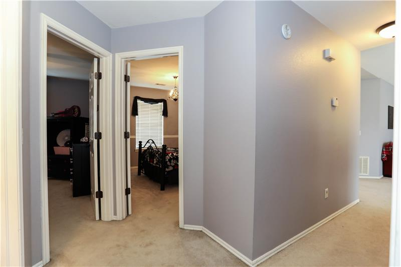 Hallway to Bedrooms 2 & 3