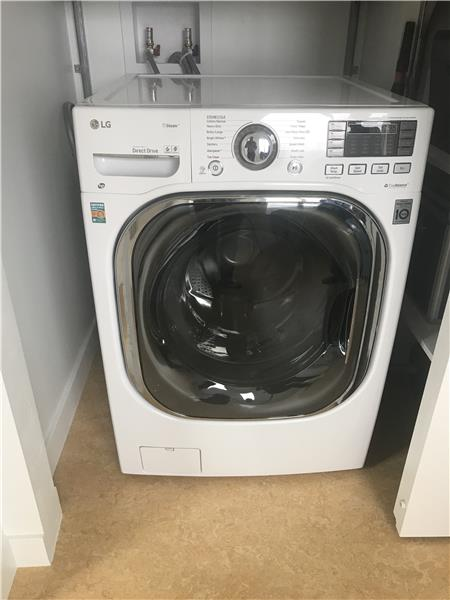 LG Steam washer/condensing dryer -- one appliance does it all efficiently