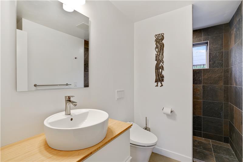 Main-floor 3/4 bathroom