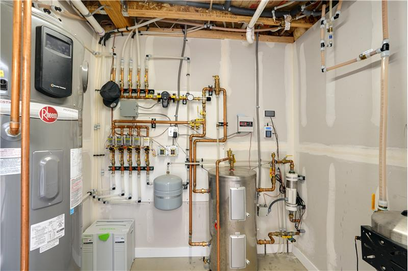 See video tour for details of mechanical room