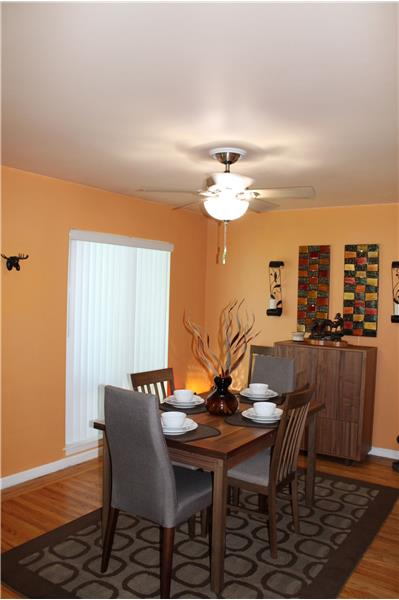 Dining Area Off Living Room