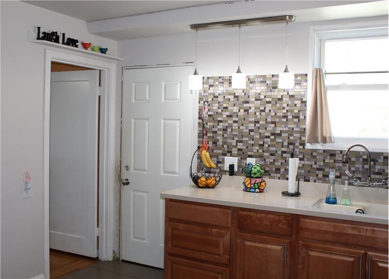 Kitchen Access to Garage