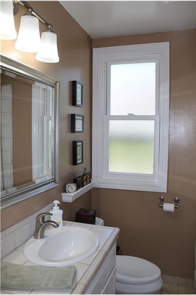 Hall Bath with Window