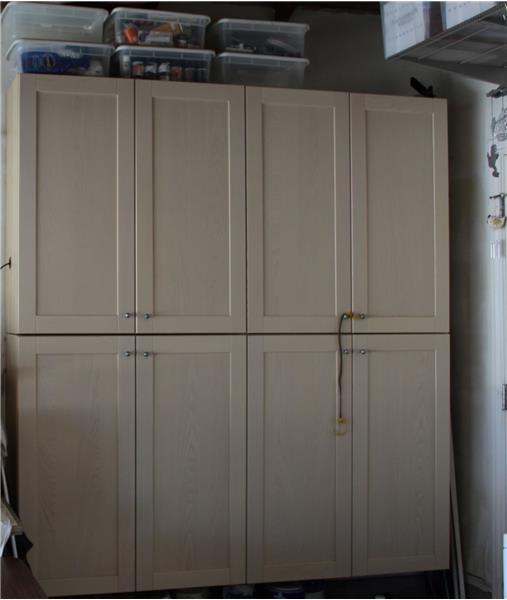 Storage Cabinets in Garage
