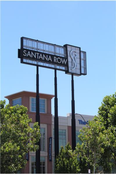 Santana Row Less Than 1/2 Mile