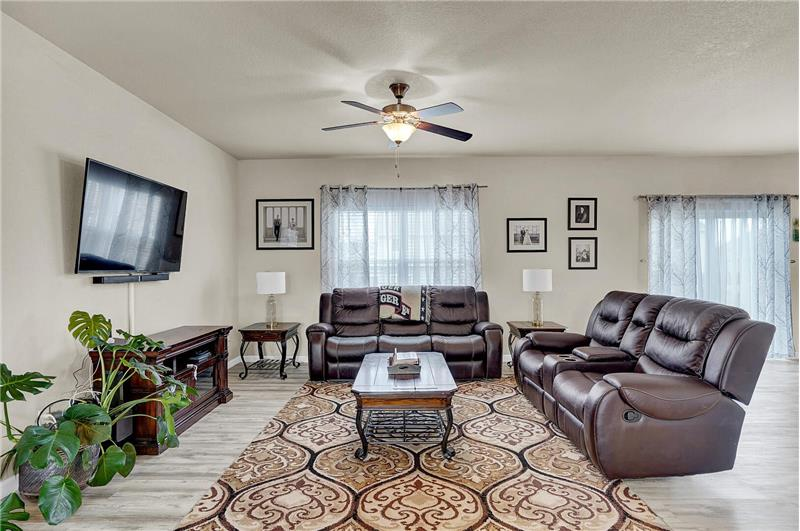 Another view of the Family Room