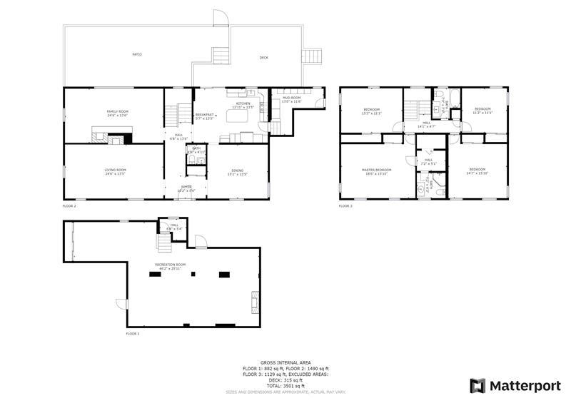 759 Richards Road Floor Plan