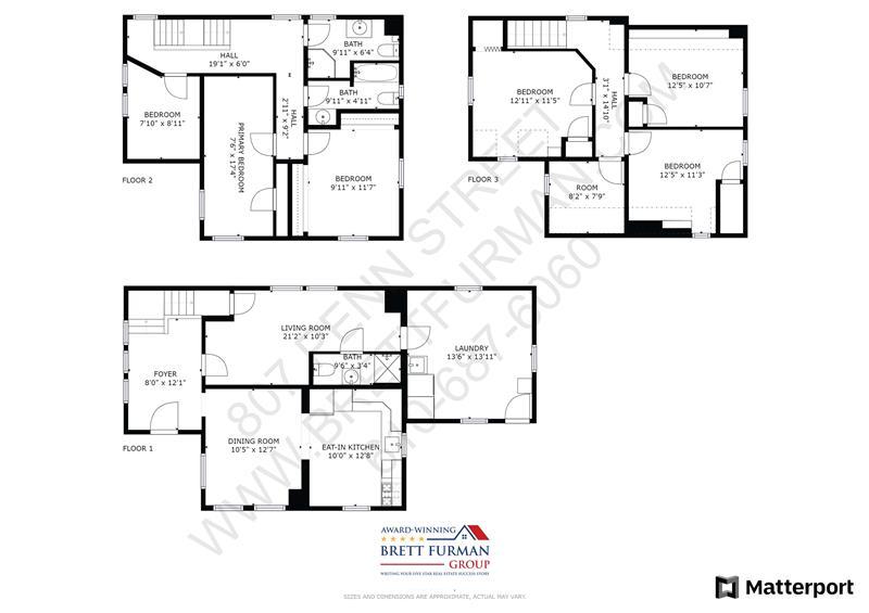 807 Penn Street, Bryn Mawr, Floor Plan