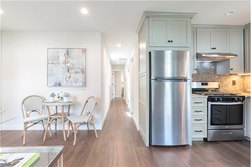 Energy Saving Appliances in In-Law Kitchen