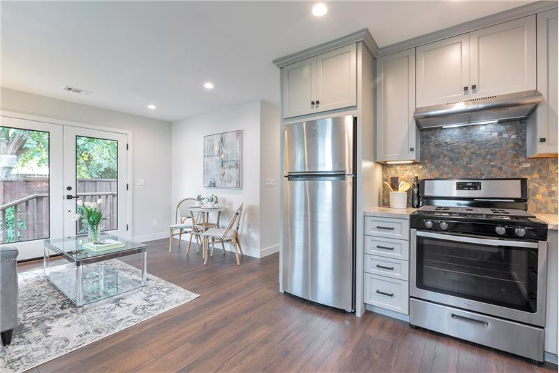 In-Law Kitchen with lots of Storage space