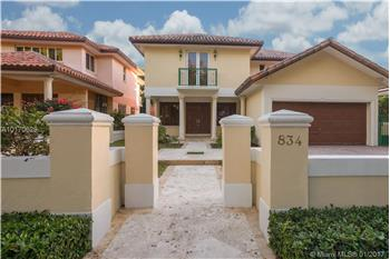 834 Andalusia Avenue, Coral Gables, FL