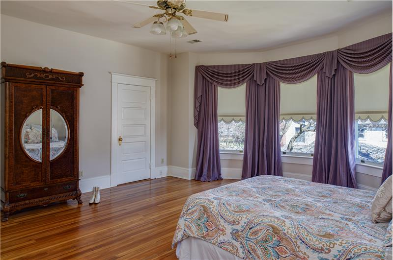 Just look at this glorious master suite!