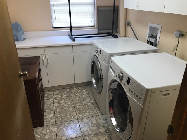 Washer and dryer are included