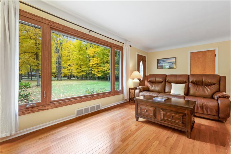 Newer wood floors