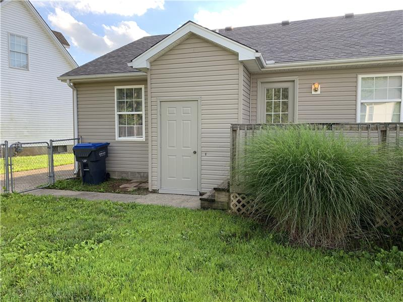 Attached storage room.  Exterior Updates include a NEW roof and updated landscaping