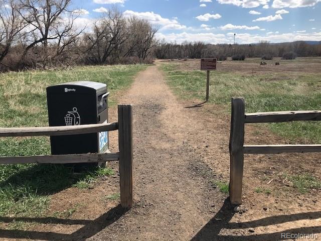 Nearby trail in Bear Creek greenbelt
