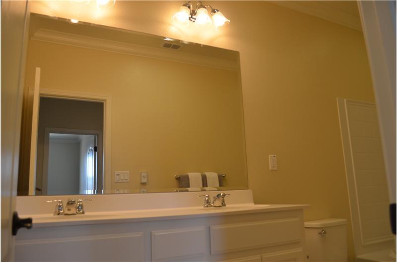 Dual Sink in bathrooms