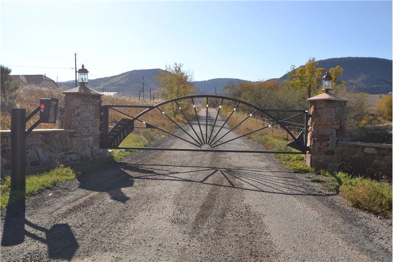 This is a gated community - gate at Hwy 93