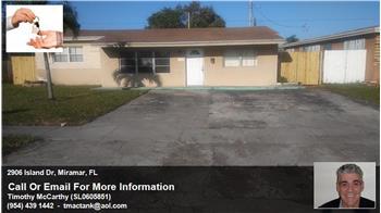 2906 Island Dr, Miramar, FL