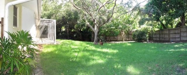 Backyard and Lanai