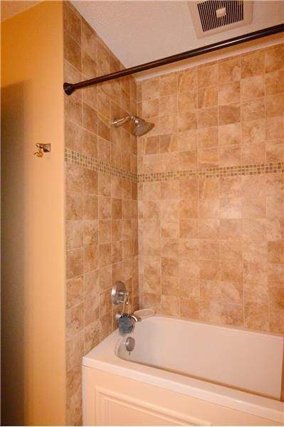 Custom tile and jetted tub