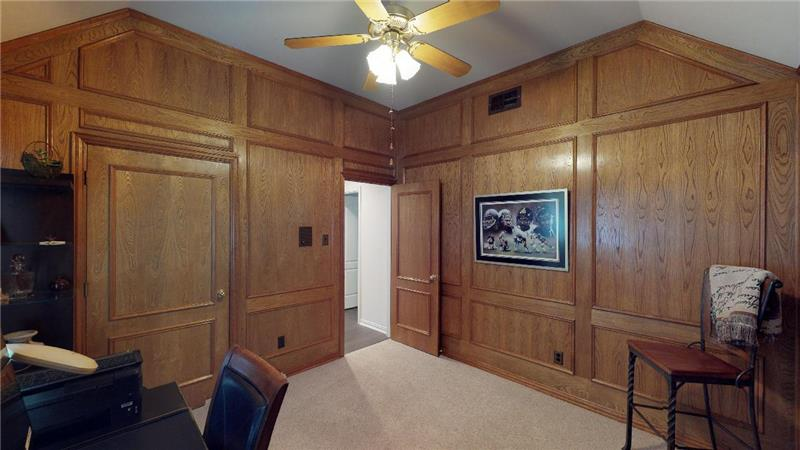 Could be a great nursery or craft room, too!