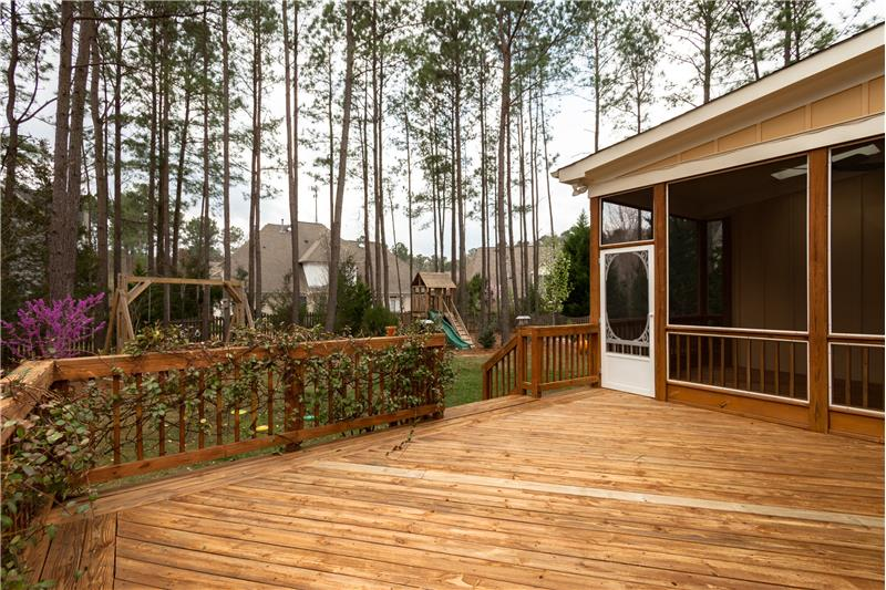 104 River Run Road, Durham, NC Deck