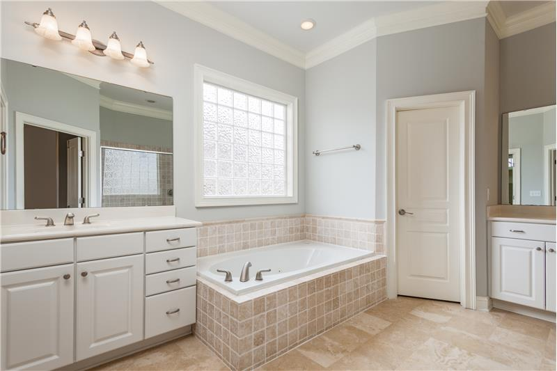 104 River Run Road, Durham, NC Master Bath