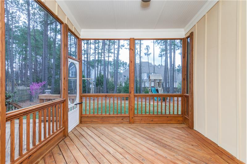 104 River Run Road, Durham, NC Screened Porch